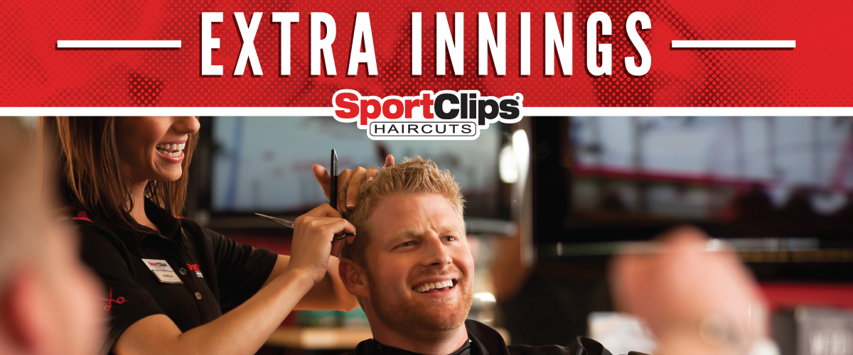 The Sport Clips Haircuts of St.Louis - South City  Extra Innings Offerings